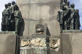 Se robaron una estatua de 400 kilos que contiene los restos del primer presidente de Brasil