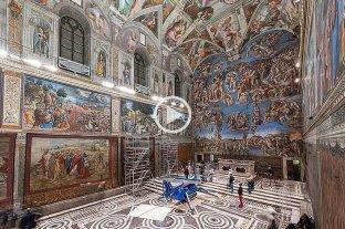 Los tapices de Rafael retornan a la Capilla Sixtina en Roma -  -