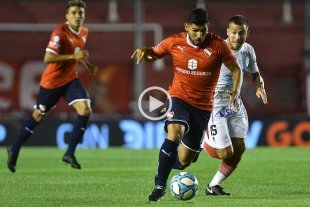 Independiente igualó 1 a 1 ante Arsenal -  -