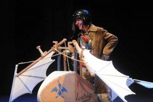 """Festival de teatro unipersonal  - """"Icaria"""" es uno de los espectáculos que se desplegarán durante el encuentro. -"""