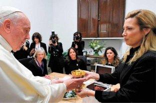 """Francisco decidió que el cáliz de la """"misa por la unidad"""" quede expuesto en la Basílica de Luján"""