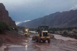 Cortes de ruta y familias evacuadas tras las intensas lluvias en la Quebrada de Humahuaca