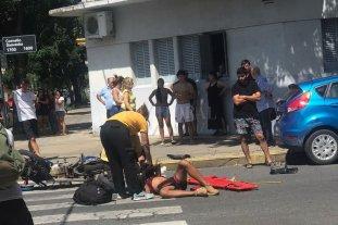 Robo frustrado en el sur de la ciudad: Huyeron, chocaron y uno de los ladrones sufrió lesiones graves -  -