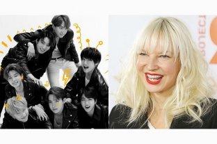 El nuevo álbum de BTS contará con la participación de Sia