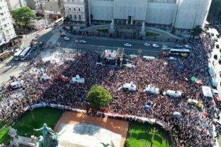 Multitudinaria marcha en reclamo de justicia por el asesinato de Fernando Báez Sosa -