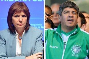 Patricia Bullrich y Pablo Moyano enfrentados en la interna de Independiente