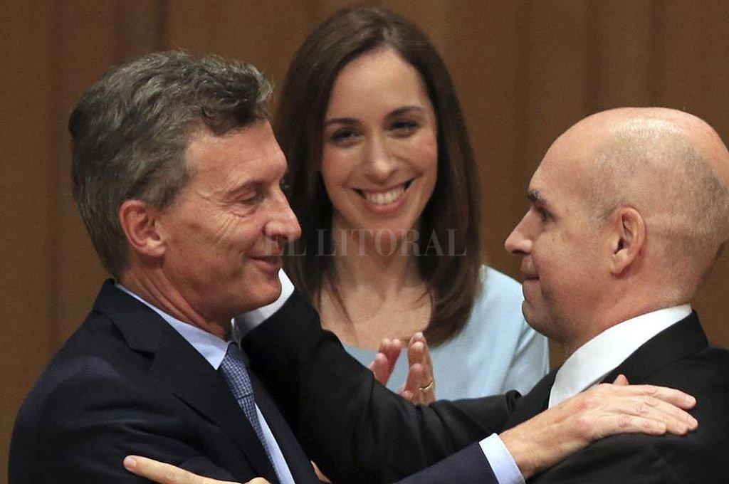 Macri y Larreta. Crédito: Archivo El Litoral