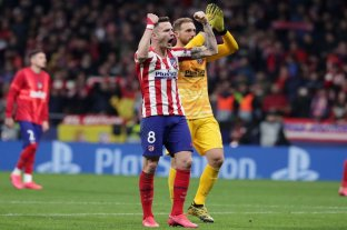 Atlético de Madrid derrotó al poderoso Liverpool por la Champions League