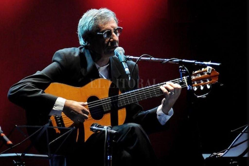 Falú ha realizado aportes extraordinarios al cancionero popular a través de diversos ritmos folklóricos.  Crédito: Archivo El Litoral