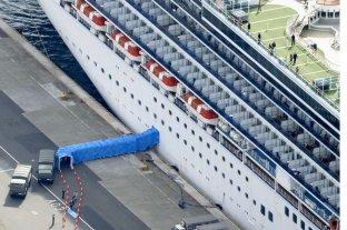 Japón confirmó otros 79 casos de coronavirus a bordo del crucero Diamond Princess