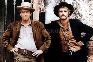 """Amigos son los amigos - Paul Newman y Robert Redford en """"Butch Cassidy y Sundance Kid"""".  -"""