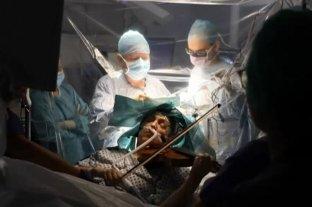 Vídeo: Tocó el violín mientras le extirpaban un tumor del cerebro -  -