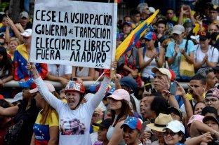 EEUU anunció que levantará las sanciones si Maduro ofrece elecciones libres
