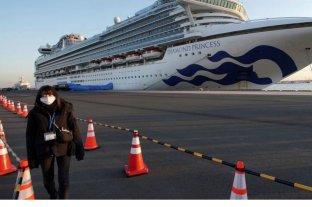 Coronavirus: murieron dos ancianos contagiados en el crucero en cuarentena en Yokohama