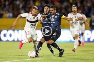 Independiente del Valle y Flamengo igualaron la primera final de la Recopa Sudamericana