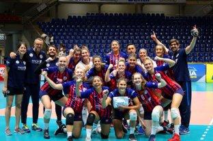 San Lorenzo ganó en el Sudamericano Femenino de Clubes de voleibol