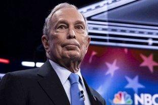 Durísimo debut de Bloomberg en el debate presidencial demócrata