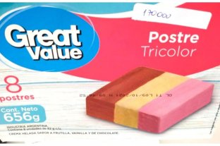 ANMAT ordenó el retiro de un postre helado de una reconocida cadena de supermercados -  -