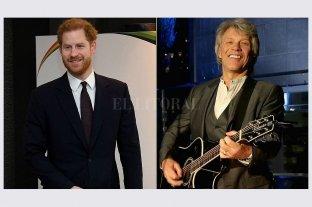 El Príncipe Harry grabará una canción a beneficio con Jon Bon Jovi
