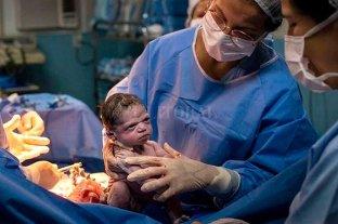 """Viral: en Brasil nació una bebé """"enojada"""" -"""