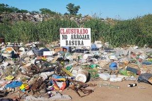 El Trébol: proyectan erradicar los depósitos de residuos a cielo abierto