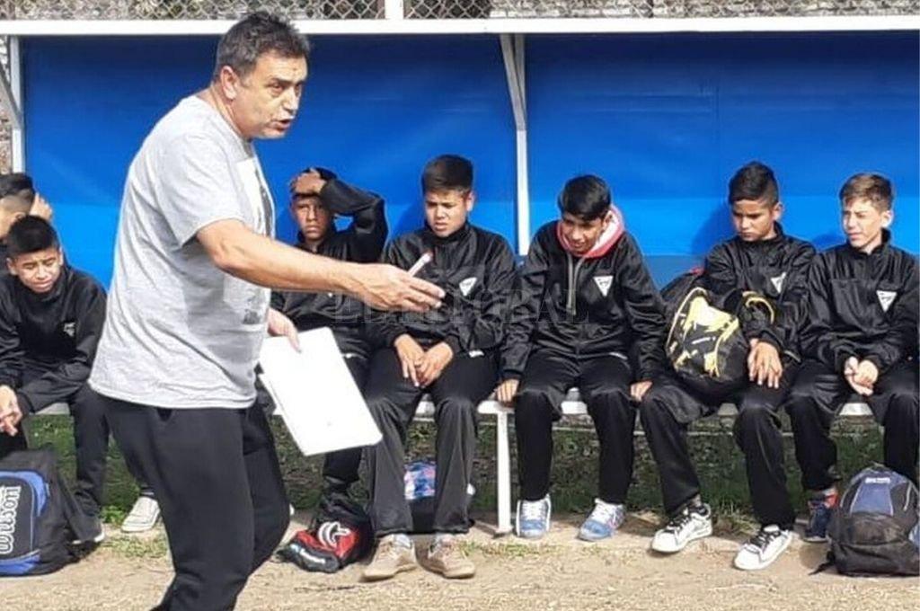 Reynaldo Bonesso será el Director Deportivo en un proyecto de formación para los más jóvenes de la Liga Paivense.    Crédito: Prensa Liga Paivense
