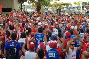 Banderazo tatengue en Belo Horizonte