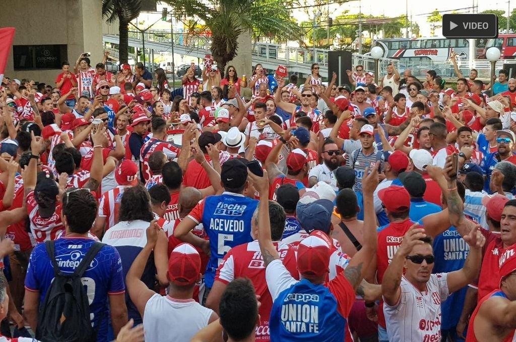 Banderazo tatengue en Belo Horizonte -  -