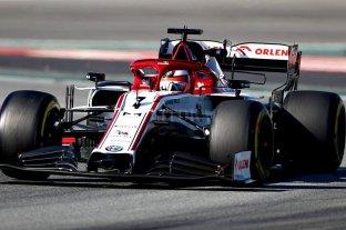 Raikkonen, con Alfa Romeo, fue el más veloz en los ensayos de la F1