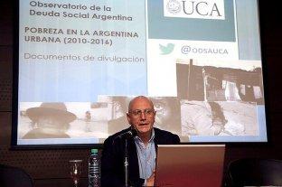 """La UCA admitió """"un error"""" al evaluar los datos de pobreza del INDEC -  -"""