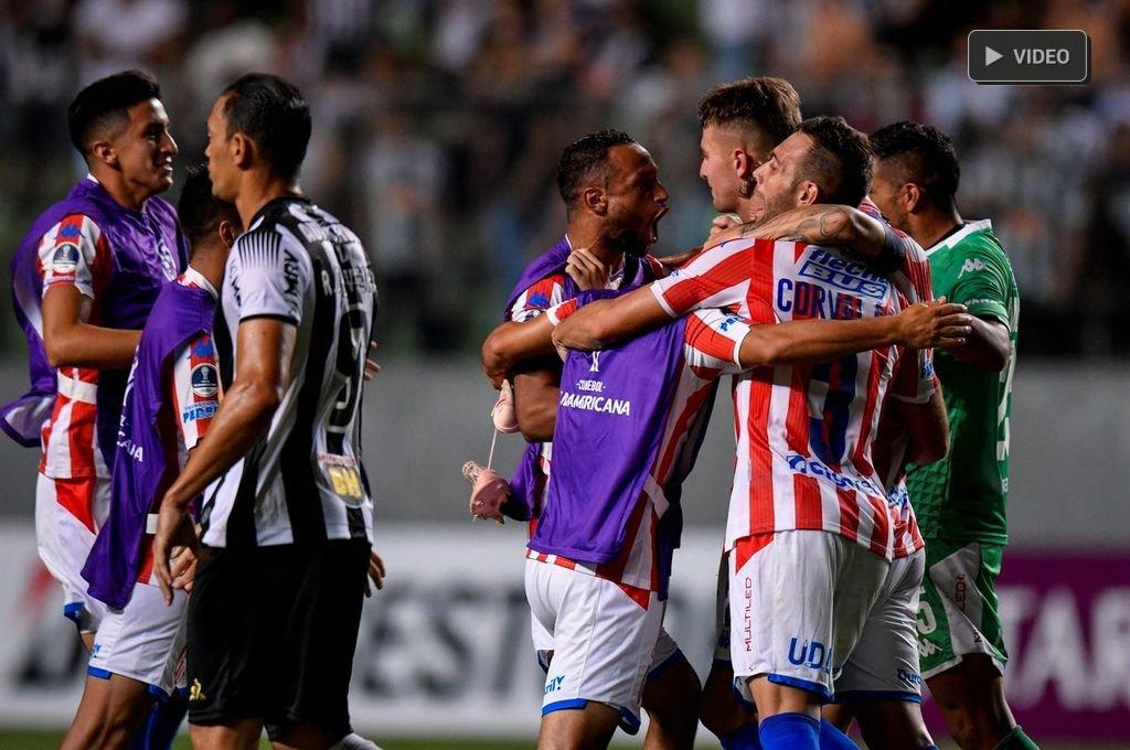 Unión perdió ante Atlético Mineiro pero le alcanzó para avanzar -  -