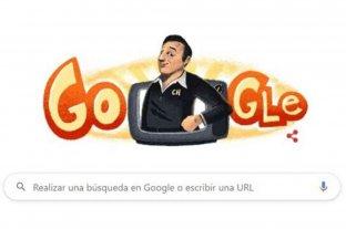 A 91 años de su nacimiento, Google homenajea con un doodle a Roberto Gómez Bolaños
