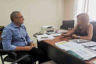 Calvo mantuvo reuniones con funcionarios del gobierno provincial