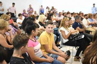 """En Rafaela, se desarrolló la segunda etapa de """"Todos los chicos y las chicas en la escuela aprendiendo"""""""