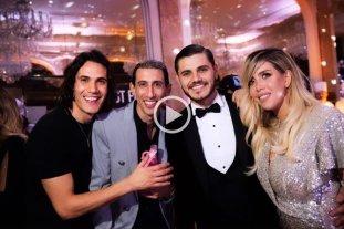 """Video: """"Soy Sabalero"""" sonó en el cumpleaños de Icardi, Di María Y Cavani -"""