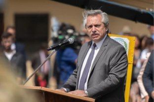 """Alberto Fernández: """"Tenemos Fuerzas Armadas totalmente integradas a la sociedad argentina"""""""