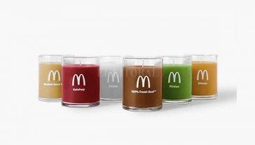 Llegan las velas con olor a hamburguesas