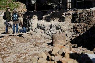 El sarcófago hallado en el Foro Romano no es la tumba de Rómulo