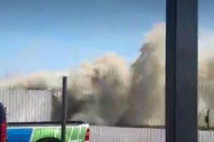 Se incendió el depósito de Cliba