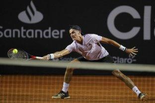 El rosarino Federico Coria perdió con el chileno Garín y se despidió del ATP de Río