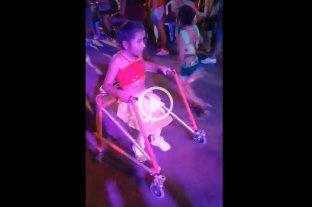 Comparsa inclusiva: Ángeles debutó en los carnavales de Rincón -  -