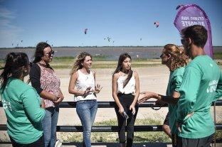 """""""Puntos violetas"""" para promover derechos de mujeres y disidencias"""