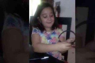 Una niña mendocina ganó un concurso por crear un accesorio para hipoacúsicos y viajará a Austria