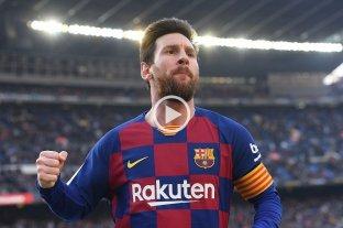Cuatro goles de Messi para el Barsa, que es único puntero tras la derrota del Real Madrid -  -