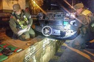 Gendarmería secuestró más de 42 kilos de cocaína en Jujuy -  -