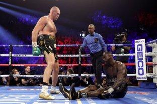 Tyson Fury noqueó a Deontay Wilder y se quedó con la corona de peso pesado
