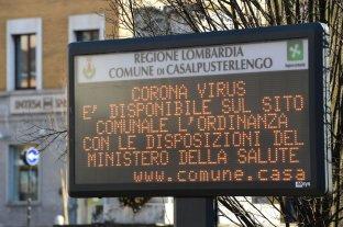 Once municipios en cuarentena en Italia, que suma 132 contagiados y dos muertes por el coronavirus