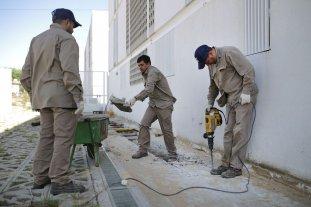Comenzaron los trabajos para habilitar las viviendas sociales de B° Barranquitas