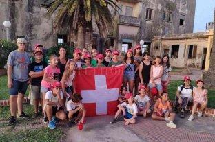 SwissCamp congregó a jóvenes de la región -  -