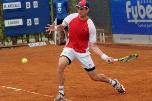 El santafesino Bagnis fue eliminado en la ronda inicial del Abierto de Santiago de Chile